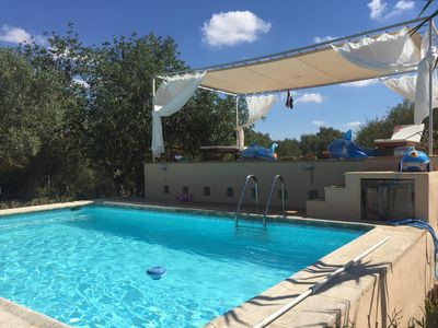 Photo for Renovated, quiet finca with large private pool and air conditioning