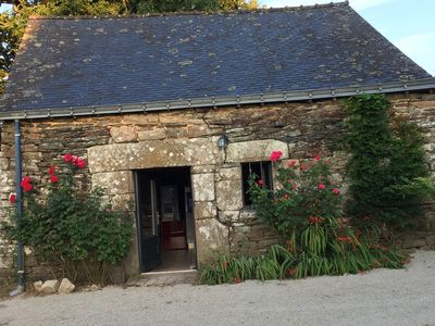 Photo for Small country stone house in the countryside 250 € the week