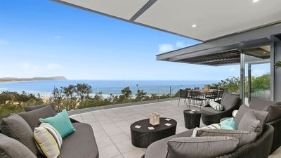 Photo for THE RISE PENTHOUSE, TERRIGAL - INCREDIBLE OCEAN VIEWS, 350M WALK TO BEACH