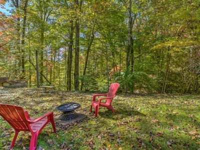 Photo for Chalet ~ Hendersonville ~ Secluded ~ Family Friendly ~ WIFI ~ Cable ~ Firepit ~