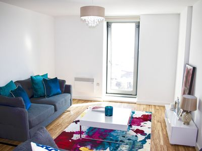 Photo for Luxury 1 Bedroom Apartment in Media City, Salford Quays