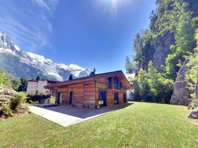 Photo for Chalet Belachat is a modern alpine property with hot-tub sleeping up to 8