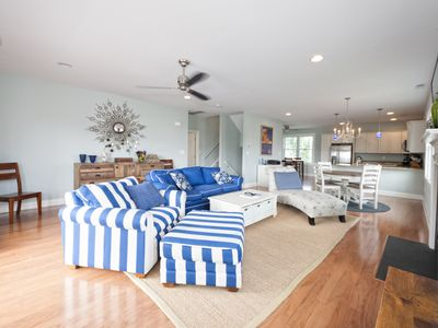 Photo for 5 br home w/hot tub and awesome bay views; sleeps 12 people