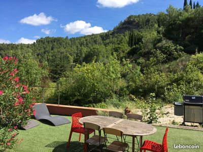 Photo for Villa Les Romarins - garden, pool and great views
