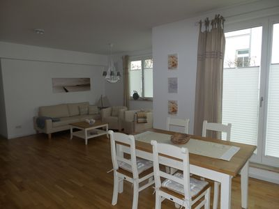 Photo for 3-room apartment - beach house lake 12, close to the beach, garden, Wi-Fi, 2 bed-Zim.