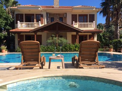Photo for Spacious private 3 bed villa . Private pool. A/C. Free wifi.