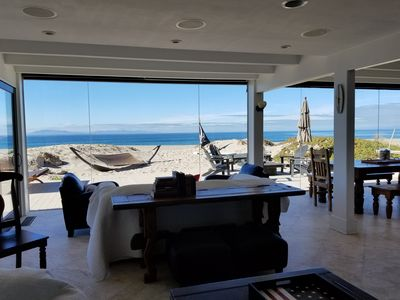 Photo for Beachfront Retreat - Relax in Paradise - Family Getaway on the Sand!