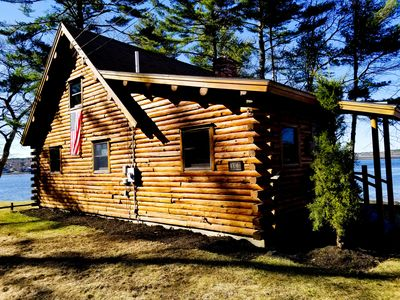 Photo for Dramatic waterfront location overlooking the Sheepscot River Harbor