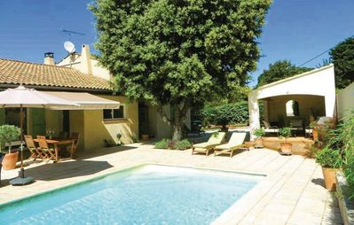 Photo for Villa with pool in Poulx | Holiday home for 8 people