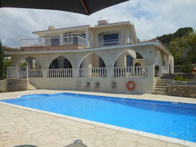 Photo for Best Location in Coral Bay -Colonial Style  Very Spacious Villa
