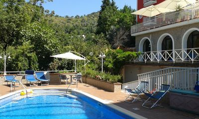 Photo for Cozy villa with shared pool, courtyard and patio near Salerno & Amalfi Coast