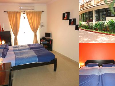 Photo for 03) Luxury Serviced Studio Close To The Beach - Baga