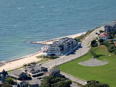 Photo for Beachfront Condo on Private Beach in Falmouth Heights