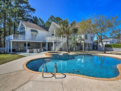 Spacious Pass Christian Home w/ Pool & Boat Launch