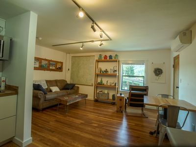Photo for Remodeled, upscale, light-filled, central location.  Dog friendly! Memory foam!