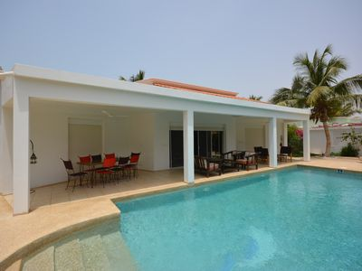 Photo for Emerald Villa luxury, comfort and quiet at the center of Saly,