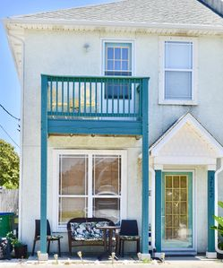 Photo for Modern 2-Bed Home Across from the Beach!