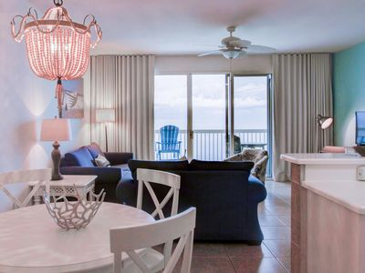 Photo for Renovated, Gorgeous Gulf Front Condo;  1BR/2 BA- Sleeps 6. SNOWBIRDS WELCOME!!