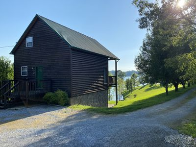 Photo for Bring the boat! 2 bedroom  cabin on Flat Creek on Douglas Lake with lake access