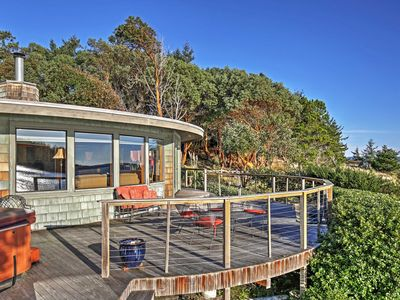 Photo for 2BR Waterfront Friday Harbor Home w/Bay Views!