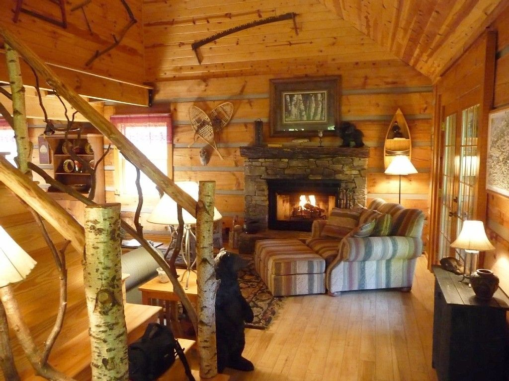Resort pictures north carolina log cabin rentals romantic cabins - Come Sit By The Fire And Relax
