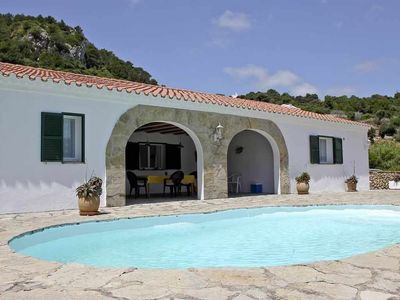 Photo for Country house with pool and panoramic views in El Toro for 8 + 2 people
