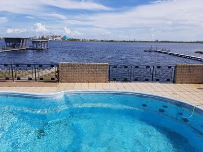 Photo for Bay Dreamer- Bayfront- PRIVATE POOL, Sleeps 10