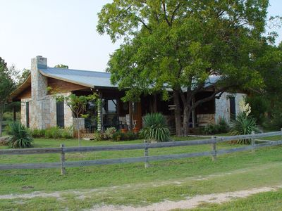 Photo for Gorgeous Views of Texas Hill Country, on Private Ranch with Lake