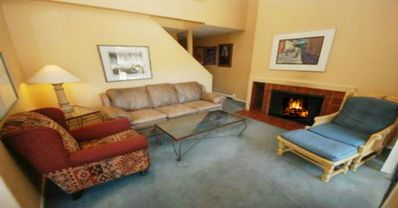 Photo for Lionshead Village, Great Price! 2 Bedroom+Loft, 75 yards from Gondola! Hot Tub!