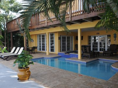 Photo for Waterfront, Heated Saltwater Pool, Dock, Direct Ocean Access - No Fixed Bridges