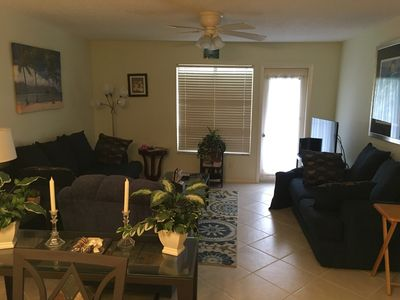 Photo for 1ST FL LAKEVIEW CONDO BY BEACHES, SNOW BIRD SEASON 3 MONTH MINIMUM, $2600 MONTH