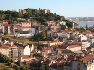 Photo for Apartment with a fantastic panoramic view of Lisbon, Tagus and the Castle
