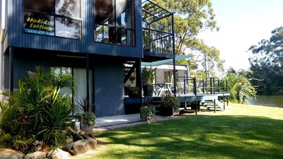 Photo for Moden Private Waterfront holiday home with optional s/c studio ideal position