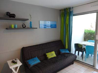 Photo for Apartment 4-5 pers. 200 m from the sea (Sunset beach). La Grande-Motte.