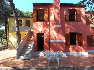 Photo for Apartment in the center of Rosolina Mare with Parking, Garden (311817)