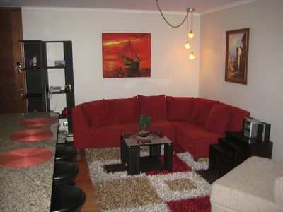 Photo for Luxurious Ocean View Apartment In The Heart of Vina Del Mar Chile