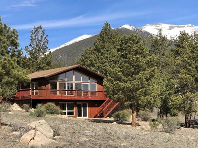 Photo for Mountain Chalet with Views of the 14ers & Close to Everything in the Area!