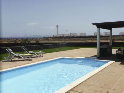 Photo for Fabulous villa, private pool, free Wi-Fi, great location, sea views.