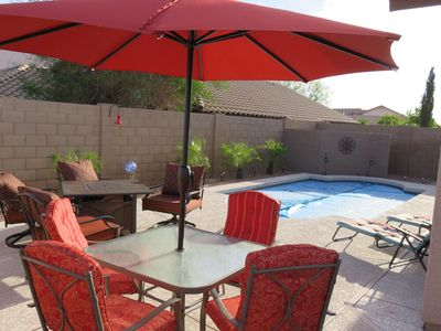 Photo for HEATED POOL!  3 BEDROOM In Quiet Sundance Community Of Buckeye, AZ