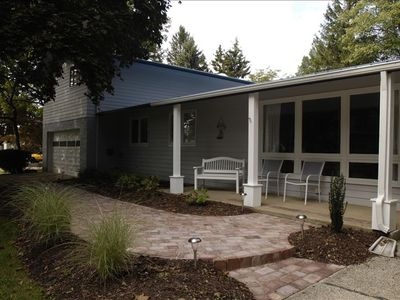 Photo for 4 BR 5 Bath Home, Sleeps 12 ,  Heated In-ground Pool