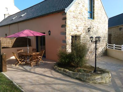 Photo for Beautiful renovated longère in the countryside and 10 km from the sea