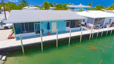 Photo for Salt Life 2 - 1bed/1bath updated half duplex with dockage
