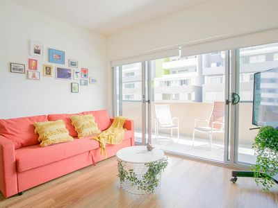 Photo for Convenient&Comfy one bedder near Airport