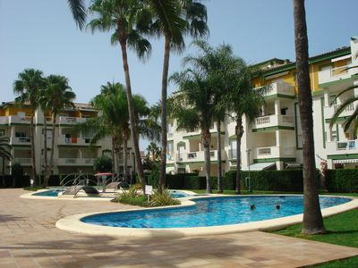 "Photo for Excellent apartment in Urbanization LA FONTANA, on the beach ""Las Marinas""."