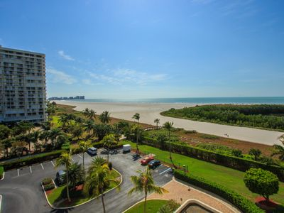 Photo for Lovely two bedroom, two bathroom, beachfront condo with too many amenities to count, including free wifi!