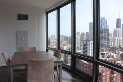 City Views and dining for 4 *Not exact unit picture. Photos in listing may not be an exact match for the unit but will be very similar. New photos coming soon