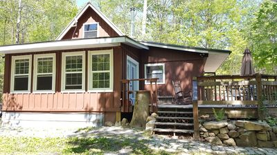 Photo for Cabin on 5 acs near Smoky Mtns & Tail of the Dragon, 2BD/1BA, Sleeps 6
