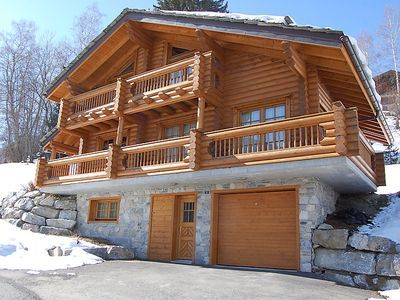 Photo for Vacation home Gentianes in Nendaz - 6 persons, 3 bedrooms