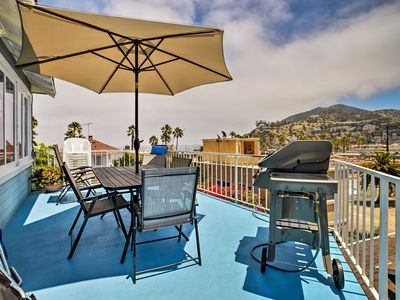 Photo for NEW! Ocean-View Home - Walk to Avalon City Center!