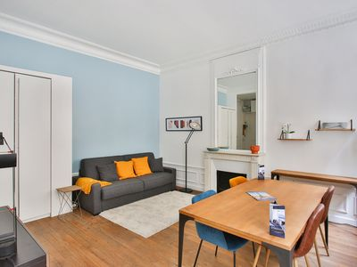 Photo for Typical studio close to Eiffel Tower and Arc de Triomphe in Paris - Welkeys
